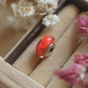 Authentic Pandora Red Murano Charms